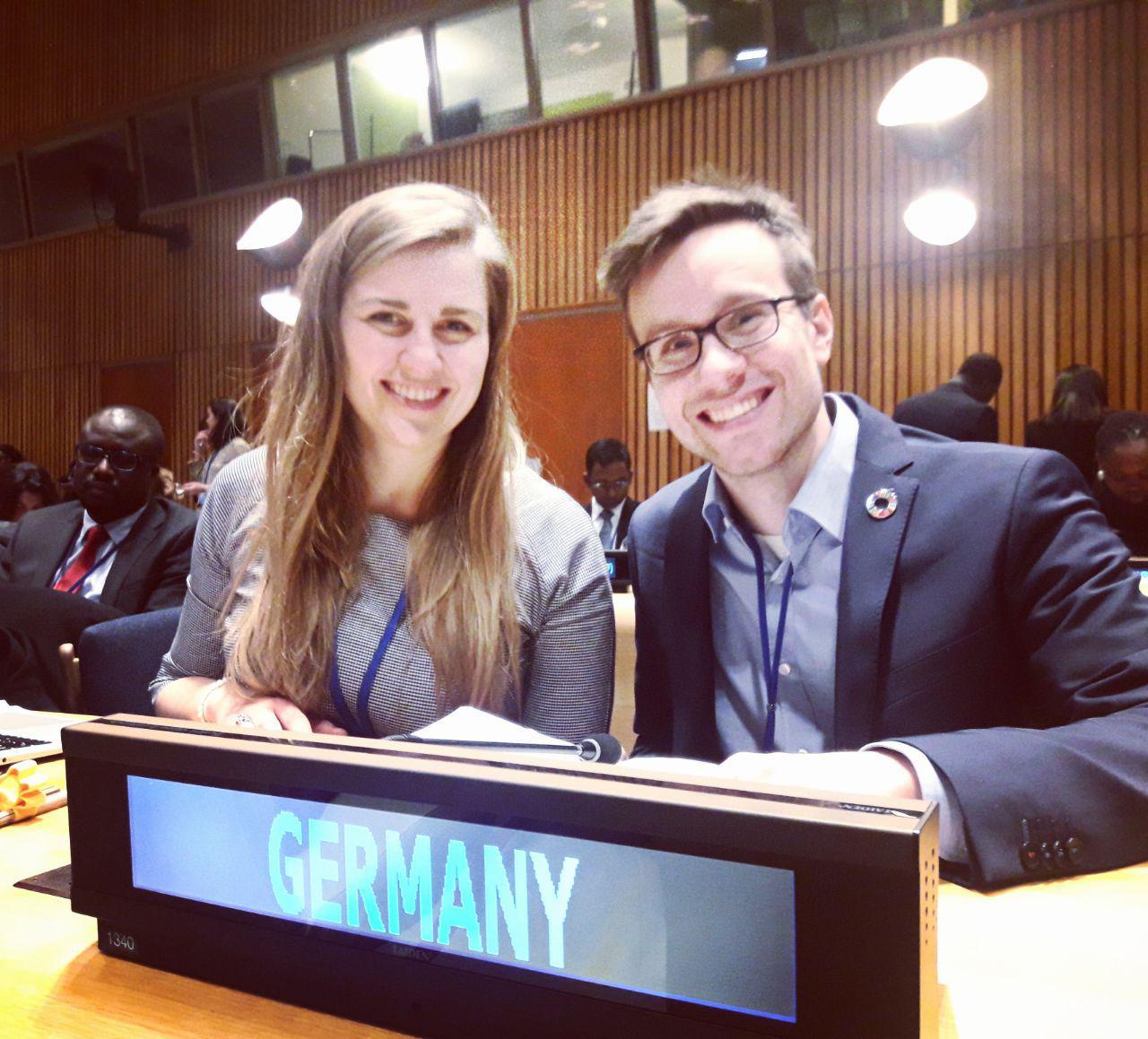 Die Jugenddelegierten geben den jungen Menschen bei den Vereinten Nationen eine Stimme.